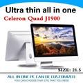Promoção preço tudo em um pc all-in-one oem tamanho pequeno pc cpu 2 1. 5 polegadas com j1900 2. 0 ghz 2g ram 32g ssd de apoio debian ubuntu