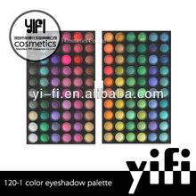 2012 Hot! 120-1 eyeshadow palette high quality smoky eyeshadow
