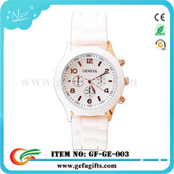 express alibaba 2015 wholesale vogue watch unisex fashion silicone wristband watch geneva