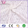 White 100% nylon panty elastic knitting eyelet lace