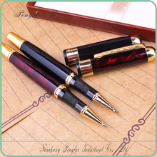 Office Stationery Business Quality Roller Ball Pen Ink Metal Signature Gel Ink Pen