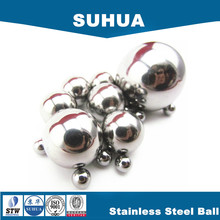 1/8, 5/32, 3/16, 7/32, 1/4 inch 316L stainless steel ball