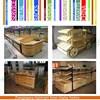 Hot sale wood fruit & vegetable display table bin