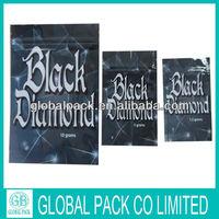 Black Diamond 10g/3.5g top open herbal incense wholesale,potpourri smoking spice