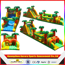 New design funny inflatable obstacle course for sale