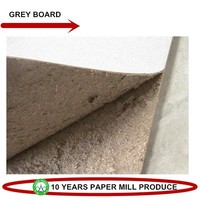 Dongguan Paper Fair/Paper Mill Direct Supply Grey Board/Grey Cardboard for Box
