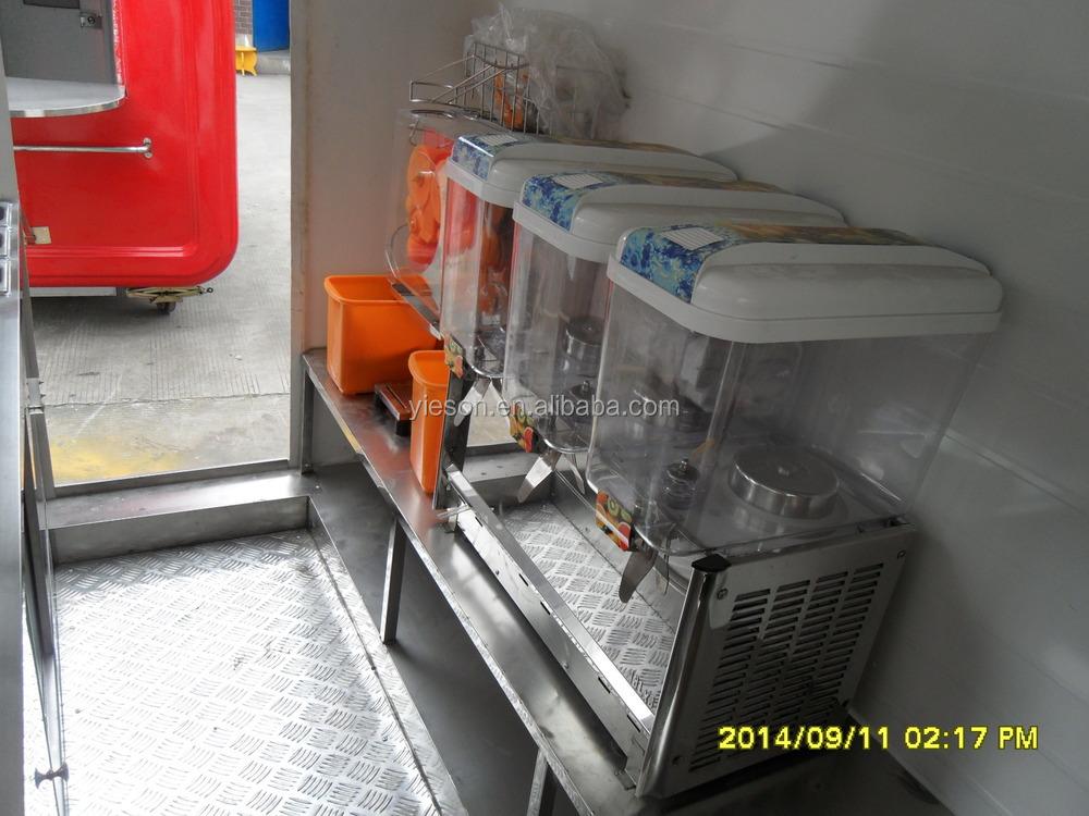 Meilleure qualit alimentaire remorques stand remorque for A l interieur trailer