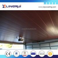 building materials plastic lamination wood panel pvc ceiling design,decorative wall panel