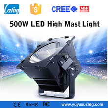 IP65 Outdoor 500W LED Basketball Court Light CreeChip Meanwell Driver