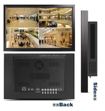 """55"""" industrial 1080p hd lcd cctv monitor with VGA HDMI DVI input for street security"""