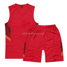 Custom Cheap Basketball Jersey Color Red