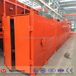High efficiency mesh chain dryer/belt drying machine for metal balls and briquettes