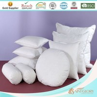round polyester pillow insert