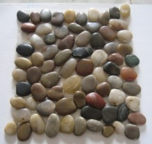 Hot sale natural tumbled polished colorful pebble stone for landscaping and garden decoration