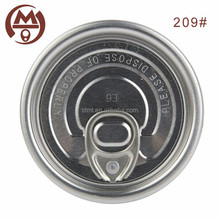 High quality 209 embossed aluminum cap manufacturer