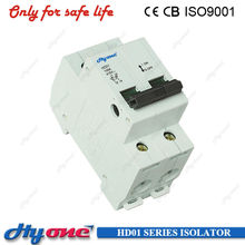 HD01 C45N C45 ISOLATOR SINGLE PHASE MAIN SWITCH 2P 100A SWITCH-DISCONNECTOR