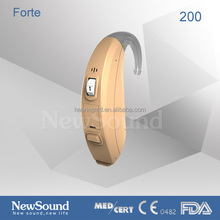 Powerful BTE hearing aid 13A battery medical care product
