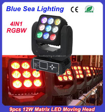 2015 wholesale price led lighting 3x3 led quad matrix with dot controlled