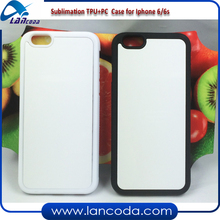 TPU sublimation rubber phone case for iphone 6/6S