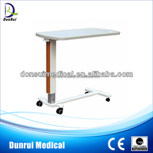 Adjustable ABS Hospital Over Bed Table