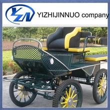 Popular style mini marathon training horse carriage for sale