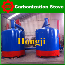 2.4 ton/day wood lump carbonized kiln/ charcoal kiln