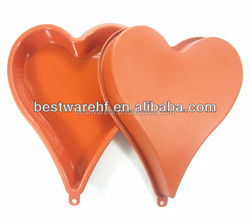 Heart shape cook Pan love heart cake pans silicone cake mould