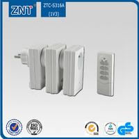 range to 50m,1000W 3600W,12V 23A, 50hz 60hz,433.92mhz 315mhz,Outdoor Wireless Remote Control Power Socket,1v3