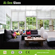 Clear Comfortable Hollow Glass Sunroom Veranda/ Garden Roof Skylight Glass With Best Price
