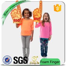 custom sponge hand/rubber finger for cheering wholesale