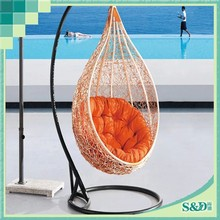 SD cheap price birdcage hanging chair rattan