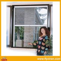 DIY Retractable aluminium windows with mosquito net