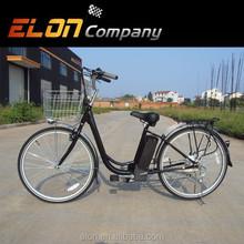 26inch steel 24V li-ion city old bikes for sale (E-TDH08AX)