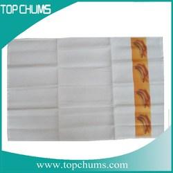 wholesale white organic cotton kitchen towels