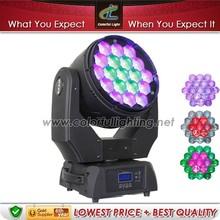 19pcs bulb light led moving head copy robe pointe