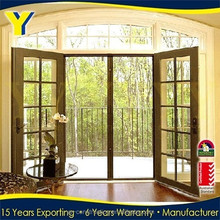 Australian standards Aluminum Double Casement Doors/ Hinged Doors With AS2047 Australia Standard/doors and windows