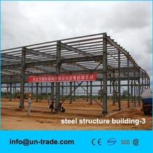 low cost prefab steel structure