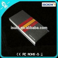 Power bank 8000mAh / Alloy shell power bank/ power charger all model mobile phone