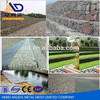 Pvc coated galvanized hexagonal gabion box,gabion wire mesh box,welded gabion box