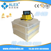 mini fish tank thermometer automatic chicken egg incubator high quality egg incubator AI-96B