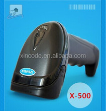 Reliable Decoding Capacity 1D Laser Pistol Barcode Scanner/Barcode Reader X-500