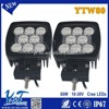 Y&T Square 10w led projector fog lights lamp Multifunctional lights LED working lights auto lamps