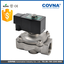 2/2way Pilot Operated Direct Acting Normally Open Solenoid Valve 24VDC