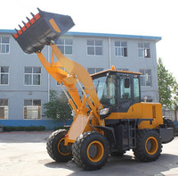 2.5tons Chinese small construction machine, front end wheel loader hydraulic well made with low price hot sale
