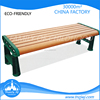 2015 new style low long chair wooden street bench for relax