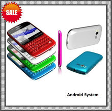 "2013 new model 2.6"" screen android phone with keyboard c5-a tv wifi mobile"