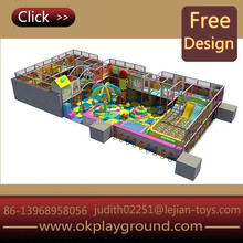 Full color most popular good fun big size terrific wood indoor playground equipment