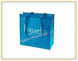 2015 non-woven foldable shopping bag/gift shop name ideas bag/designer shopping plastic bags