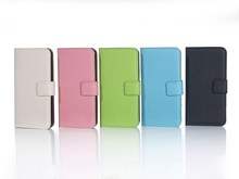 Factory supply color assorted waterproof leather cell phone case