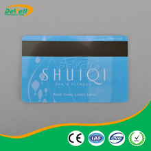 Can be customized plastic frosted card with magnetic stripe
